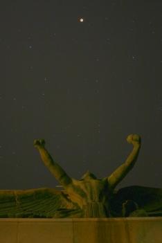 Le salut d'Apollon à Séléné
